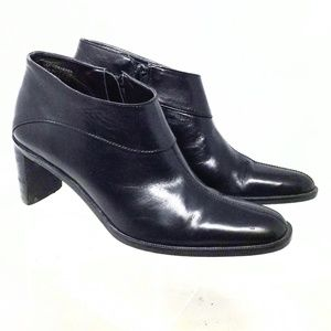 Etienne Aigner Donnie Women's Leather Ankle Boots